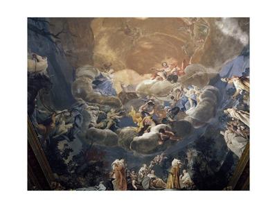 Olympus, 1690-1700 Giclee Print by Giuseppe Maria Crespi