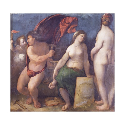 Allegory of Music, 1522 Giclee Print by Dosso Dossi