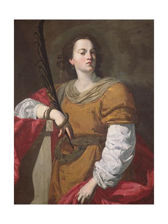 St. Christina the Astonishing, 1637 Giclee Print by Francesco Guarino