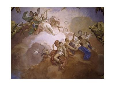 Gods of Olympia Giclee Print by Jacopo Guarana