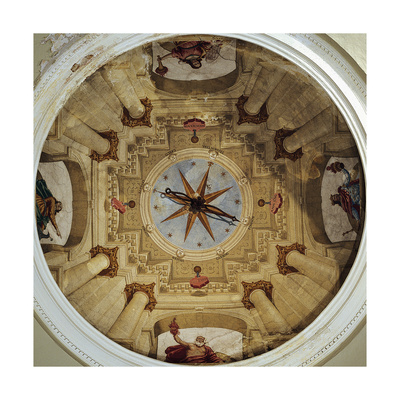 Architectural View, 1650 Giclee Print by Luca Ferrari