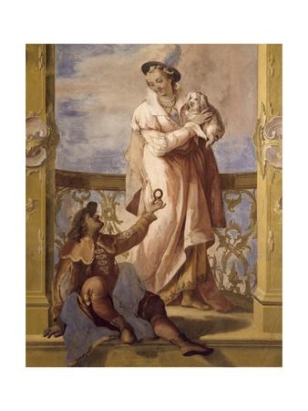 Fresco Giclee Print by Jacopo Guarana