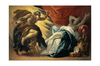 Jupiter and Semele Giclee Print by Luca Ferrari