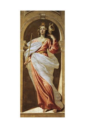 Allegorical Figure, 1650 Giclee Print by Luca Ferrari