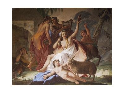 Bacchanal, Ca 1770 Giclee Print by Jacopo Guarana