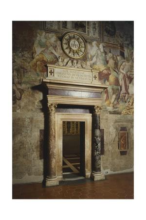Frescoes Giclee Print by Ridolfo Ghirlandaio