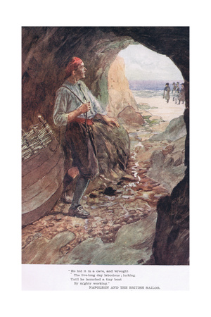 He Hid it in a Cave Giclee Print by William Rainey