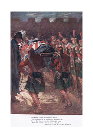 """""""No Useless Coffin Enclosed His Breast"""" Giclee Print by William Rainey"""