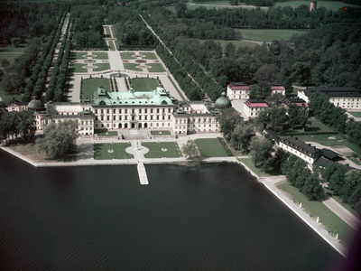 Drottningholm Palace and Garden Photographic Print by Charles Rotkin