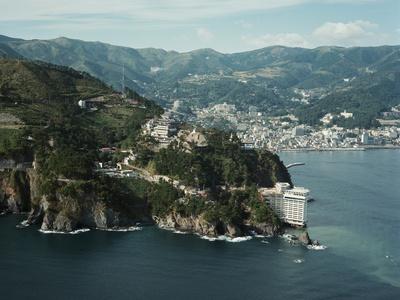 Atami Coast Resort on Izu Peninsula Photographic Print by Charles Rotkin