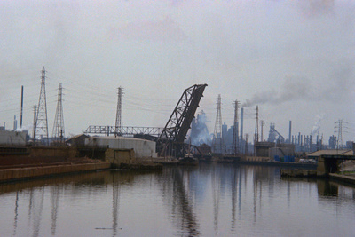 Lake Erie Polluted Waterway Photographic Print by Charles Rotkin
