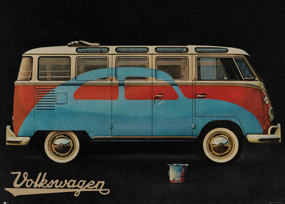 VW Camper Advert Posters