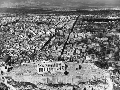 Parthenon and the Acropolis Photographic Print by Charles Rotkin