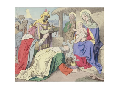 The Adoration of the Magi Giclee Print