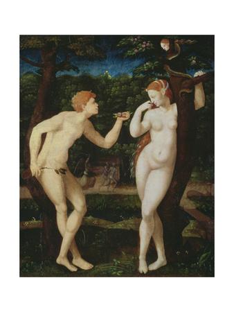 Adam and Eve Giclee Print