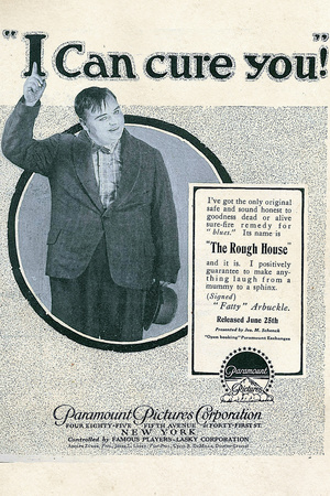 The Rough House Movie Fatty Arbukle Buster Keaton Poster Print Posters