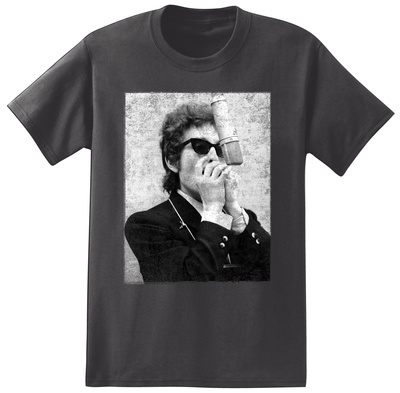 Bob Dylan - Harmonica T-shirts