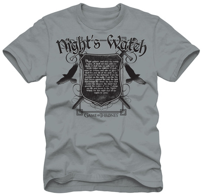 Game of Thrones - Night's Watch Oath Tシャツ