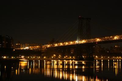 New York City Williamsburg Bridge Photo Print Poster Print