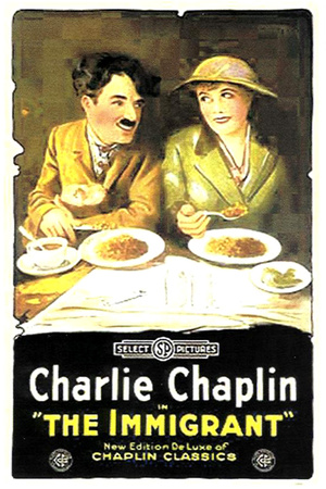 The Immigrant Movie Charlie Chaplin Poster Print Posters