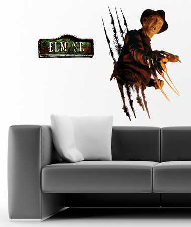 Nightmare on Elm Street - Freddie Krueger Wall Decal