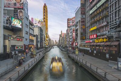 Japan, Osaka, Dohtonbori Photographic Print by Rob Tilley