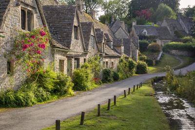 Arlington Row Homes, Bibury, Gloucestershire, England Photographic Print by Brian Jannsen