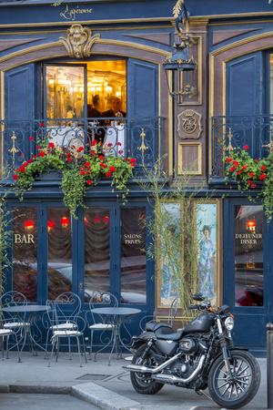 Historic La Perouse Restaurant in Saint Germain Des Pres, Paris France Photographic Print by Brian Jannsen