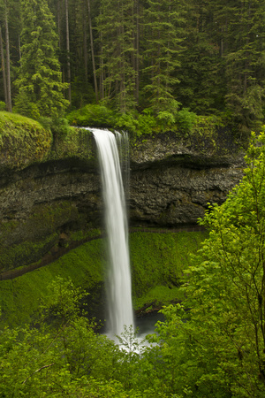 South Falls, Silver Falls State Park, Oregon, Usa Photographic Print by Michel Hersen