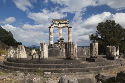 Greece, Delphi, Sanctuary of Athena Pronea, Structure of ...