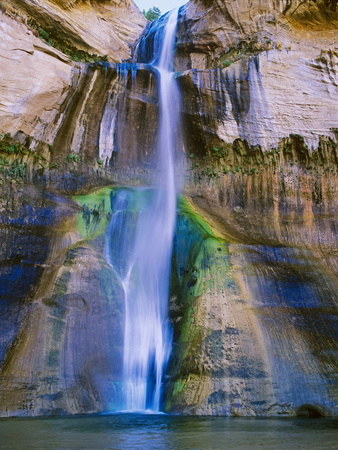 Lower Calf Creek Falls in Grand Staircase-Escalante Nat. Monument, Ut Photographic Print by Howie Garber