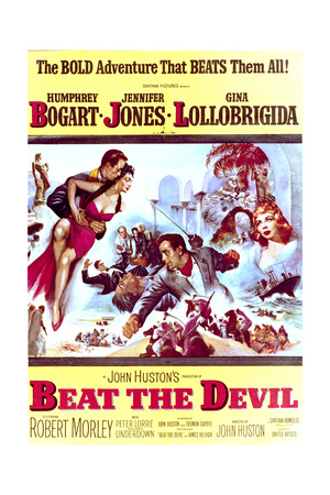 Beat the Devil - Movie Poster Reproduction Prints