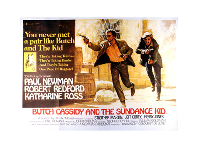 Butch Cassidy and the Sundance Kid - Lobby Card Reproduction Prints