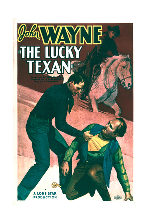 Lucky Texan - Movie Poster Reproduction Poster