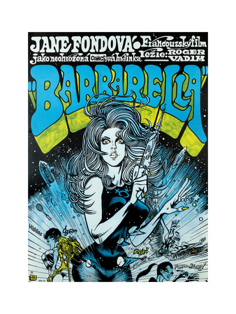 Barbarella - Movie Poster Reproduction Posters