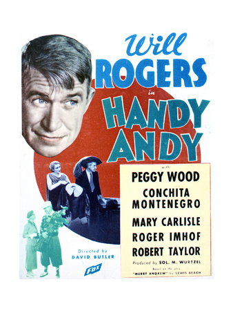 Handy Andy - Movie Poster Reproduction Poster