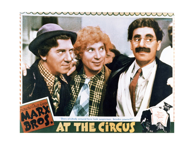 At the Circus - Lobby Card Reproduction Prints