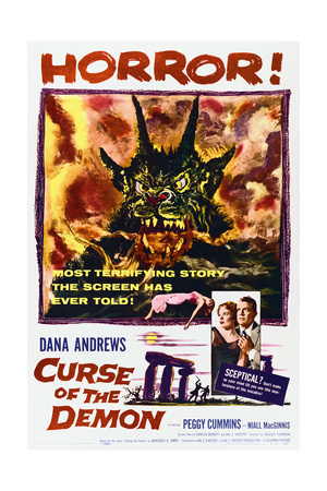 Night of the Demon - Movie Poster Reproduction Prints