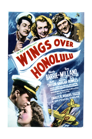 Wings Over Honolulu - Movie Poster Reproduction Poster
