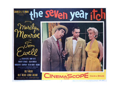 The Seven Year Itch - Lobby Card Reproduction Print
