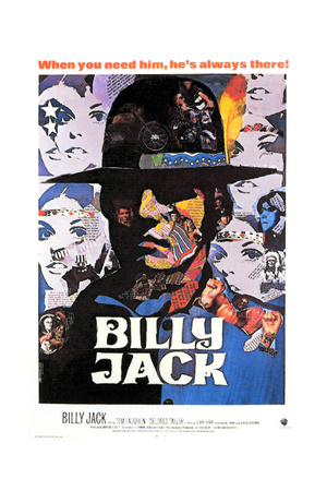 Billy Jack - Movie Poster Reproduction Prints