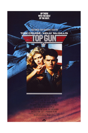 Top Gun - Movie Poster Reproduction Print