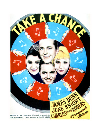 Take a Chance - Movie Poster Reproduction Art