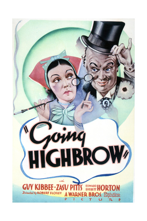 Going Highbrow – Movie Poster Reproduction Prints