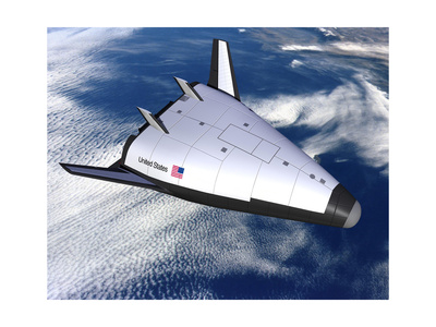Artist's Rendering of the X-33 Reusable Launch Vehicle Prints