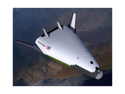 Artist's Concept of the X-33 after Engine Shutdown Posters
