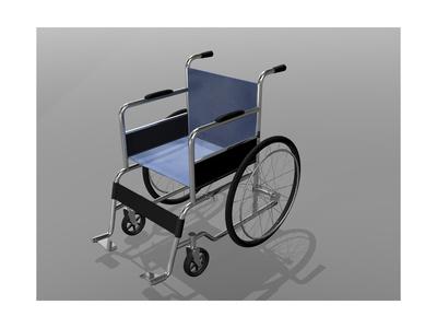 Wheelchair Illustration Prints