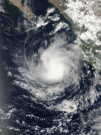Hurricane Dalila Off Mexico Photographic Print