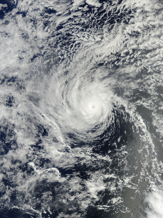 Hurricane Henriette Near Hawaii Photographic Print