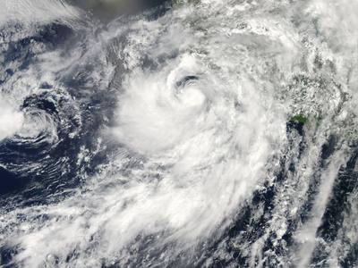 Hurricane Erick Off Mexico Photographic Print